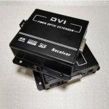 10gbps伝達まで最大ファイバー上の4k DVIのファイバーエクステンダー(単一のファイバーか単一方法) DVIエクステンダー