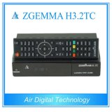 MultistreamのヨーロッパのデコーダーZgemma H3.2tcは二重チューナー工場価格でコアLinux OS DVB-S2+2*DVB-T2/Cの二倍になる