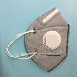 Respirador disponible plegable del polvo N95 con el carbón activo