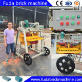 燃えがらの移動式小さい手動ブロック機械Qmr2-45