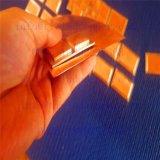 Décomposition collant la feuille plaquée titanique métallurgique de plaque de cuivre de l'obligation Gr2 pour le traitement extérieur