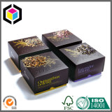 Caixa de empacotamento de papel de dois cosméticos da cópia de cor dos lados
