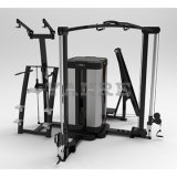 Fancy Design Body Building Equipment 9 Station-Dual Pod
