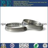 Qualität CNC maschinell bearbeitete Soem-Metallrohrfittings