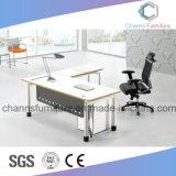 Escritorio de oficina del vector ejecutivo de los muebles de la combinación