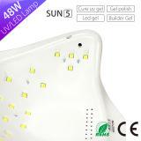 3 сушильщик светильника ногтя белого света UV СИД машины Sun5 Sun Manicure отметчика времени для лечить все гели