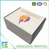 Caja de regalo plegable de la caja de cartón plegable de color