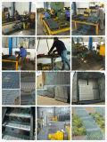 Reja de acero serrada moho anti con el tratamiento de la galvanización de la INMERSIÓN caliente
