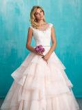 Manicotto riconoscente della protezione del merletto della sirena che Wedding i vestiti nuziali
