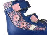Новая кожаный сандалия ягнится протезная сандалия для девушки