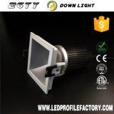 Lámpara del punto de Ty26 LED, lámpara ahuecada GU10 del proyector de 12V LED, precio del dispositivo ligero del punto del LED