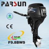 Controllo dell'attrezzo di F9.8bws Parsun 9.8HP, inizio elettrico e motore esterno della breve asta cilindrica