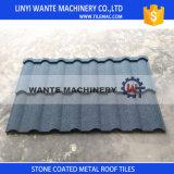 Tuiles de toit enduites en métal de pierre 55% en aluminium populaire internationale en Afrique