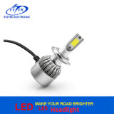 2017 farol quente do diodo emissor de luz do carro da ESPIGA C6 da luz H7 36W 3800lm do carro do diodo emissor de luz do Sell