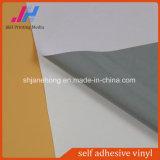 Etiqueta engomada adhesiva gris/blanca/negra del vinilo