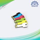Laufwerk-wasserdichte Feder-Laufwerk-8GB 16GB 32GB 64GB Laufwerk-Speicher-Stock des Metallschlüsselusb-128GB Feder-Laufwerk USB-2.0 greller