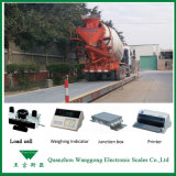 Маштабы тележки Weighbridge 100t Scs-100 3*16m