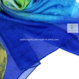 Повелительница Способ Шелк Шарф Фабрика шарфов разнообразия покрашенный вручную напечатанная
