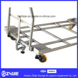 Instrumento de trabalho da posição para as peças de automóvel Integrated bandeja e trole