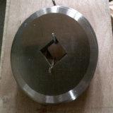 Pieza inserta redonda del carburo de las láminas de la desfibradora de los cuchillos del cortador