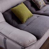 호텔 침대 룸 가구 Fb1137를 위한 고품질 Flannel 직물을%s 가진 현대 디자인 부분적인 소파