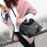 Al90037. Cuoio della mucca del sacchetto di spalla del sacchetto delle donne delle borse del cuoio della borsa di modo delle borse del progettista delle borse della borsa delle signore