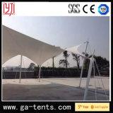 Im Freienschwingen-Form-Ausdehnungs-Farbton-Zelt