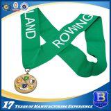 La medaglia di sport placcata rame antico della pressofusione
