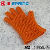 Mitaine anti-calorique de gril de cuisine de gant de four de silicones