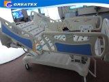 Base médica eléctrica de la base ajustable con las barandillas desmontables del ABS del cabecero del ABS con el operador embutido (GT-BE5020)