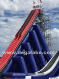 150m Longth Inflatable Free Style Toilets Slide for Inflatable Park Toilets