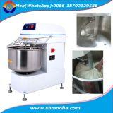 A padaria faz à máquina o misturador de massa de pão espiral
