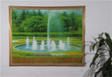 New Independent Design LFGB Transparent Printed Tablecloth 120 * 152cm (TZ0007)