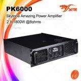 熱い販売1800W X 2 Pk6000高い発電の専門の電力増幅器