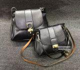 Heißes verkaufendes spätestes Deisgn weibliches reales Leder der Handtaschen-100% 2 Größen-Frauen-Schulter-Beutel Emg4963