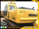 Excavador de la Caliente-Venta, excavador usado de KOMATSU PC200-6, excavador de la correa eslabonada PC200-6