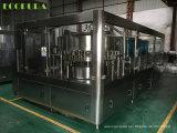 linha de enchimento empacotada 5000b/H da água bebendo (máquina 3-in-1 tampando de enchimento de lavagem)