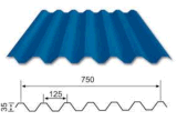 Hoja acanalada del material para techos 750 con alta calidad