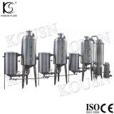 Strumentazione dell'evaporatore del concentratore della spremuta dell'acciaio inossidabile