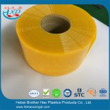 Amarelo translúcido da cortina da tira do PVC do Anti-Inseto