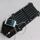 7W 5V Sunpowerの充満パックの太陽電池パネル