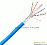 Cable de la red el de alta frecuencia Cat5e STP