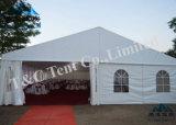 Большой напольный шатер венчания шатра стеклянной стены для сбывания