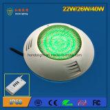 IP68 22W suspensão LED piscina luz