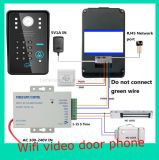 WiFi videotür-Telefon-Türklingel mit RFID Kennwort-Wechselsprechanlage-Funktion
