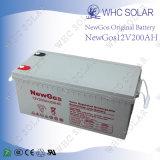 12V 200ahの手入れ不要の太陽エネルギーの鉛酸蓄電池