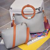 Sacs 2 de femmes dans 1 sac d'emballage réglé avec la courroie Hansbags Sy7904 de collision de couleur