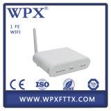 Única fibra ONU de Epon com o modem de WiFi para a solução de FTTH
