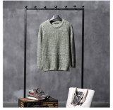 Heißer kundenspezifischer Bedeckung-Wolljacke-Jacquardwebstuhl gestrickte Gewebe-Strickjacke des Mann-Kleides