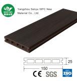 Revestimento redondo do furo WPC da grão de madeira customizável